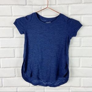 Old Navy girls blue Breathe On active shirt XS 5